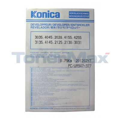 KONICA 3135 3035 DEVELOPER BLACK